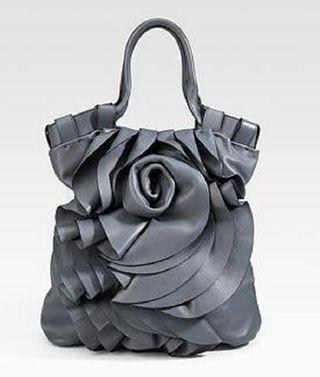 Ruffle handbag 2