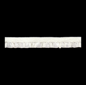 RE1369 - Ruffle Edge Trim - Cream