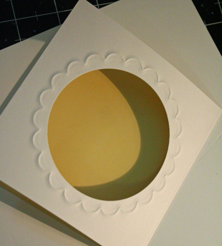 Scalloped-embossing