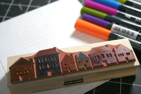 Multicolor-inking