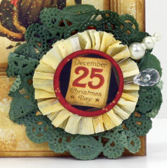 G45 doily Christmas card 7
