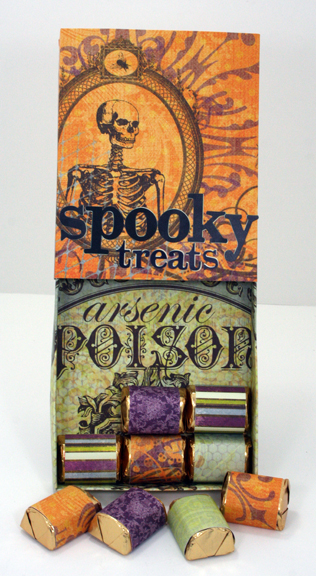 Spooky Treats sliding matchbox