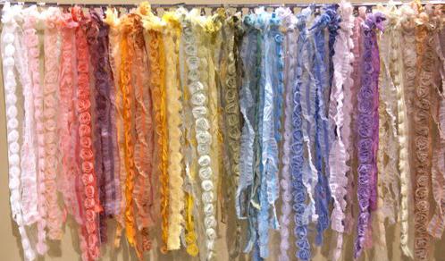Colored Lavish Trim