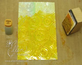 Shimmer Sheets and Alcohol Ink 1