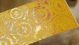 Shimmer Sheets and Alcohol Transfer 2 Embossing Powder 2
