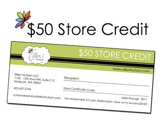 Store Credit Certificate