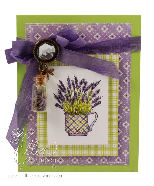 Lavender Teacup