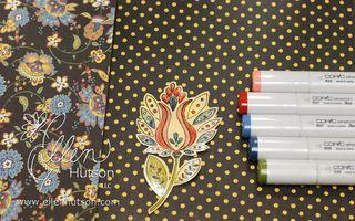 Shimmer Sheets and Copics