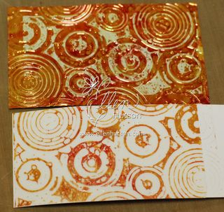 Shimmer Sheets and Alcohol Transfer 2