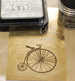 Shimmer Sheets and Embossing Powder