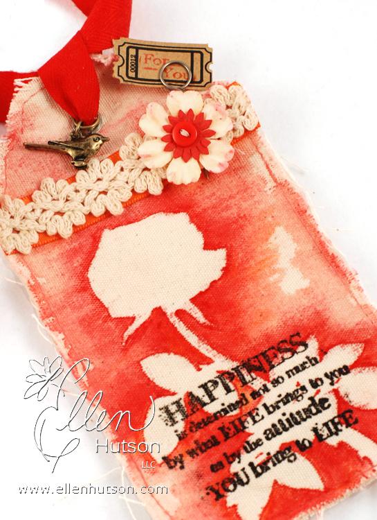 Canvas Tag Closeup