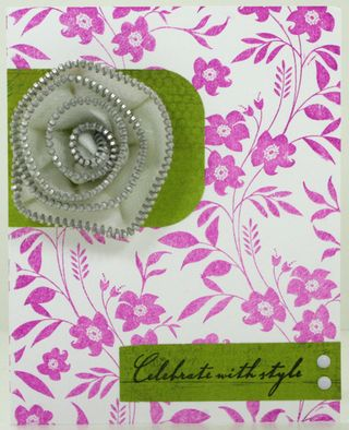 Zipper flower card final