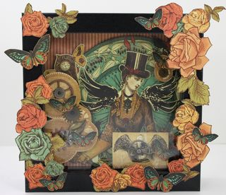 Steampunk shadow box final