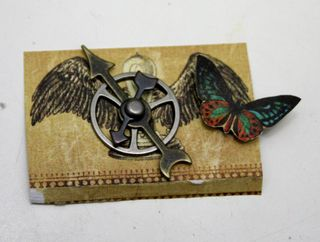 Steampunk shadow box 3