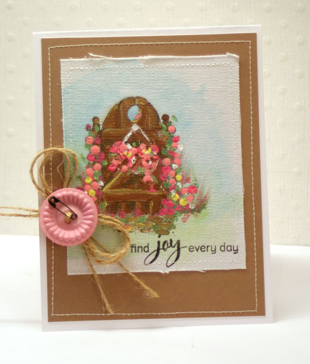 Painted-gate-card