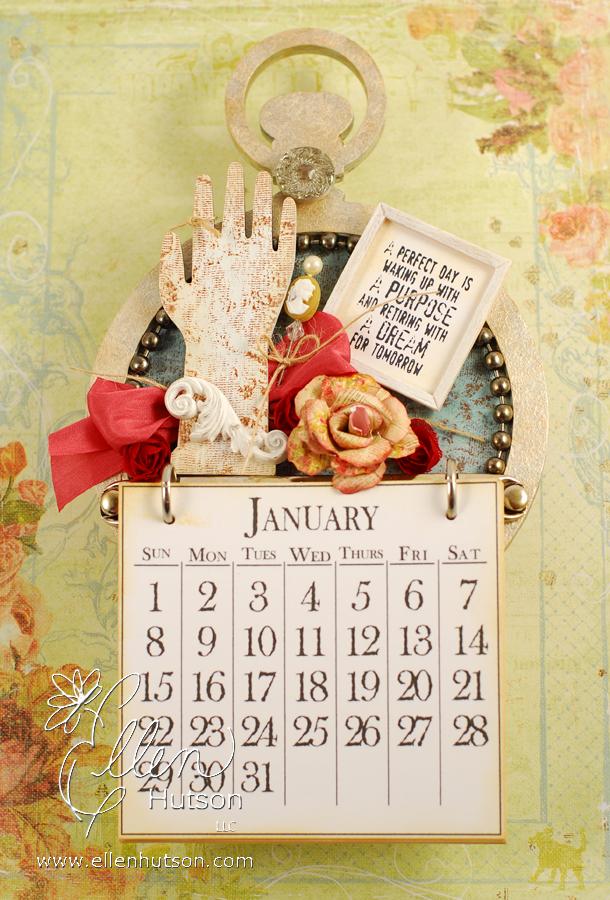 Pocket Watch Calendar