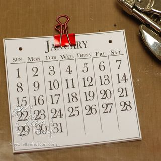 Calendar Hole Punch Tip
