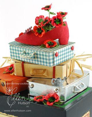 Poppies in Shoe