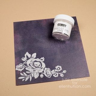 heat embossing tips by julie ebersole the classroom