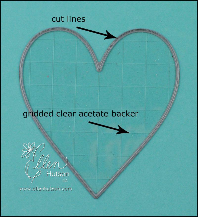 Open Die Acetate Backer
