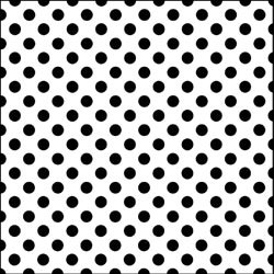 Dots crafting template