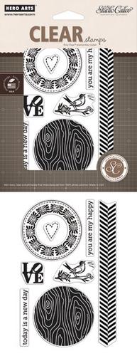 Studio calico my happy stamp set
