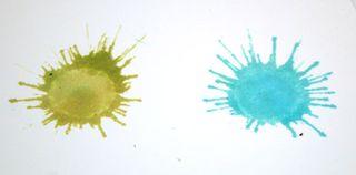 Stain-distress-splatter