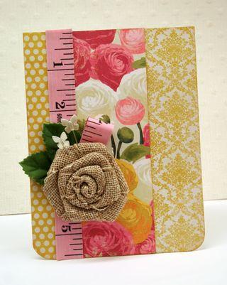 Floral-print-card