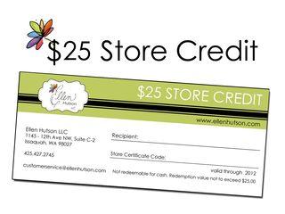Store Credit 25