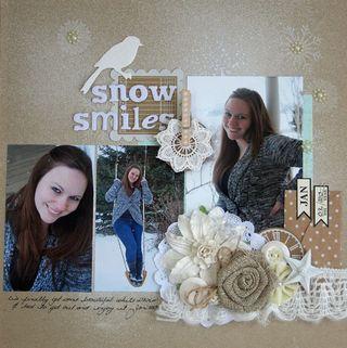 Snow-smiles