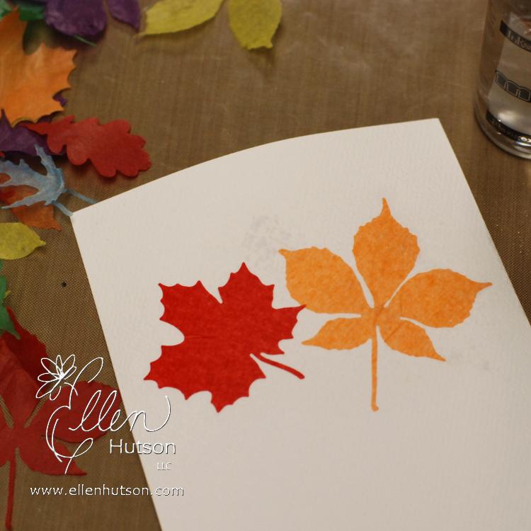 Tissue Paper Watercolors 1
