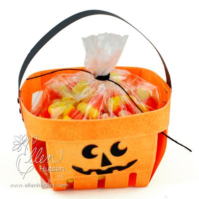 Jack O Lantern Basket