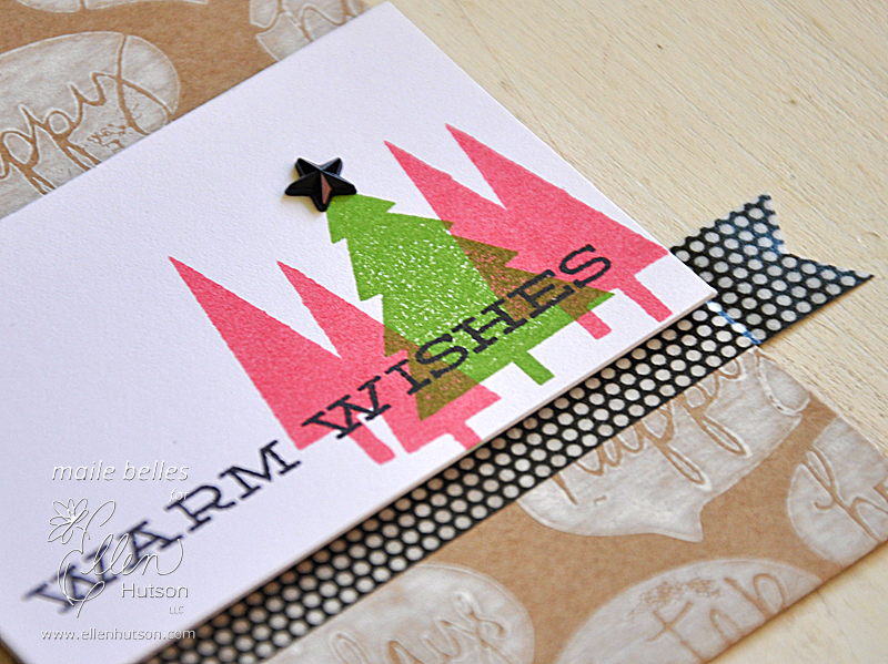 Warm Wishes Tag (Detail 1)