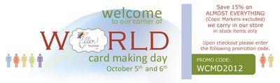 WCMD 2012 Sale Banner