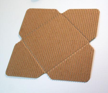 Corrguated-envelope