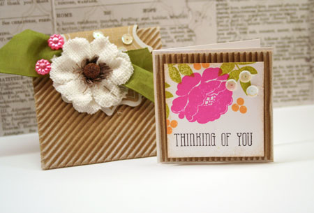 Envelope-corrugated