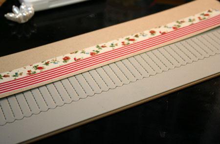 Fabric-tape-rosette-die