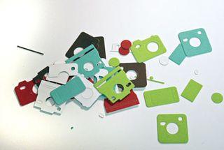 Die-cut-pieces