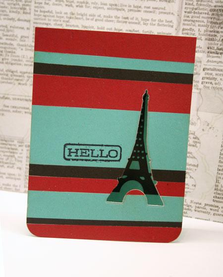 Hello-paris-card