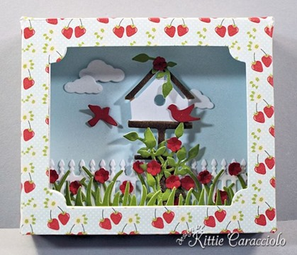 KC Sizzix Shadow Box center
