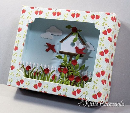 KC Sizzix Shadow Box right