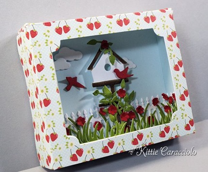 KC Sizzix Shadow Box left