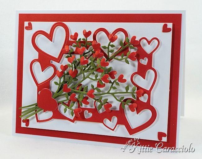Framed Heart Bouquet by Kittie Caracciolo - the CLASSroom
