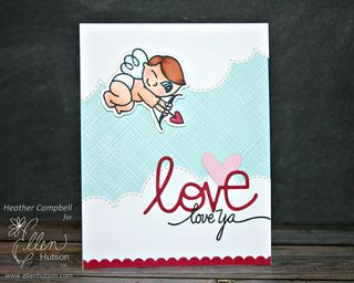 Love ya by Heather Campbell for Ellen Hutson LLC