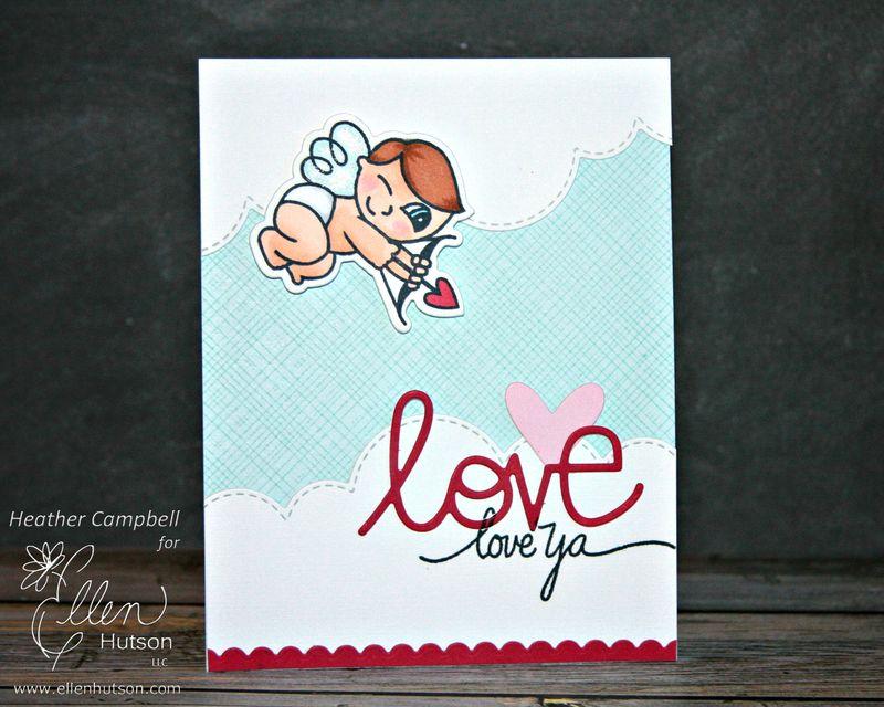 Love ya by Heather Campbell for Ellen Hutson LLC