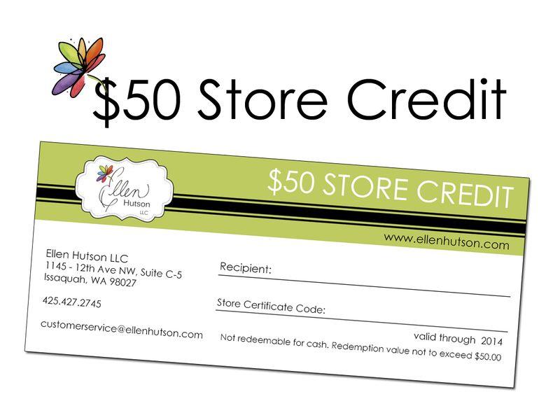 Store Credit 50