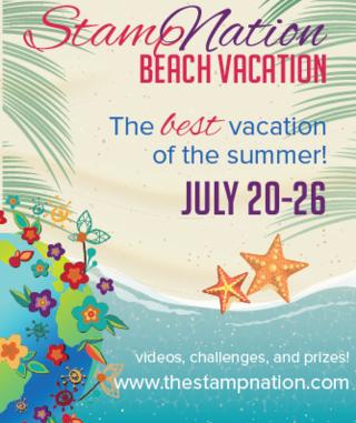StampNation Beach Vacation