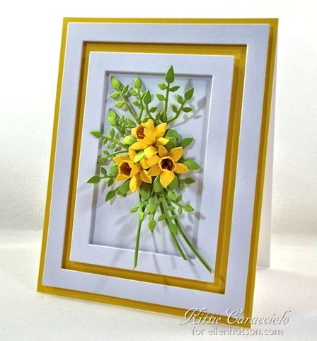 KC Elizabeth Craft Susan Garden  1 38 Inch and Mini Daffodils right