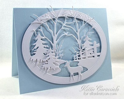 KC Memory Box Country Fence Oval Frame 1 left