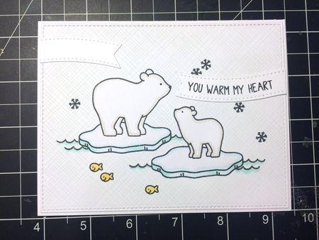Heather Campbell for Ellen Hutson Avery Elle Polar Pals
